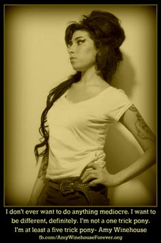 #amywinehouse quote about life