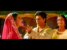 Клип из индийского фильма И в печали, и в радости Шахрукх Кхан и Каджол