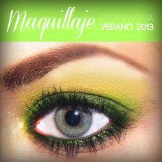 #primaveraverano2013 #maquillajedeverano  #coloresdemaquillaje2013 #colores brillantes #maquillaje #belleza