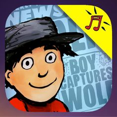 Peter and the Wolf in Hollywood App #PeterandtheWolfApp, Kid books, kid apps, best kid books, sponsored