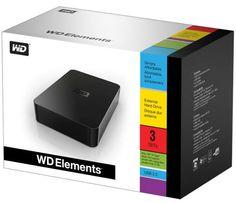 """Las gangas de un berubyano: Disco Duro WD Elements 3 Tb 3´5"""" por 99,95 € en PcComponentes"""