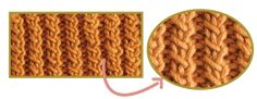punto choclo tejiendoperu.com Zig Zag, Pot Holders, Knitting, Diy, Patterns, Molde, Costumes, Sewing Stitches, Crochet Necklace