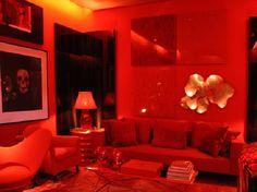 Painel de inspiração vermelho + Roberto Migotto | Andrea Velame Blog