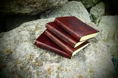 leather journal A6 travel journal Lord of the Rings Elven