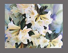 Watercolours: Original paintings NANCY TICHBORNE