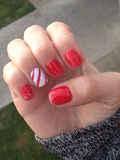 My festive holiday nails!