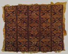 Bark cloth panel (Siapo) [Samoa] (1978.412.1702)   Heilbrunn Timeline of Art History   The Metropolitan Museum of Art