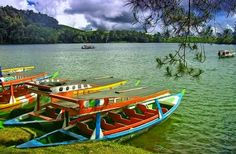 Wisata situ patenggang bandung terletak di kawasan ciwidey Bandung selatan, jawa barat, Indonesia