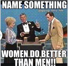 What women do