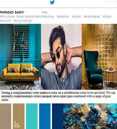 Do you #like it !? I'll #show you:how #life with #colors and  the right #palette  of colors and  #psychology colors and #minimalist style is  #luxurious and #beautiful. My new ownwork : Colors #results in a minimalist #style (#fashion - #interiordesign decoration) ______________ #iranianmodelluxure;#babakrahimi&@babak_rahimi ______________  #homedesing #architecture #phdlife #city #photography #top #makeupartist #town #street #artist  #awesomen#obsessed #misunderstood#graphic…
