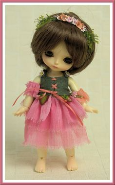 Fairy outfit for a 1/8 BJD Yellow Lati