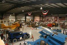 Warhawk Air Museum in Nampa, Idaho http://appetiteforidaho.blogspot.com/2011/10/treasury-of-memories.html