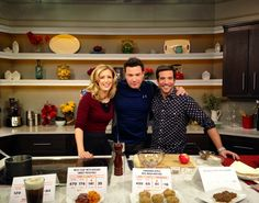 "Had fun taping #BetterTVShow today, talking ""Cook Your Butt Off!"" Airs 3/3! Local listings: http://better.tv/    #better #bettertv #bettershow #jdroberto #kristinabehr #rocco #chef #cooking #diet #fitness #cybo #recipes"