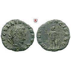 Römische Kaiserzeit, Gallienus, Denar 264-267, ss+: Gallienus 253-268. AE-Denar 17 mm 264-267 Rom. Kopf r. mit Lorbeerkranz IMP… #coins