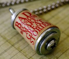 Life Lesson Necklace  Upcycled Cork Jewelry in Test by uncorked, $16.00