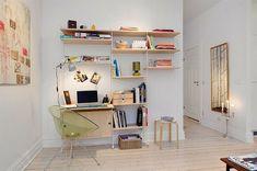 30 Skandinavische Schreibtische - stilvolle Deko Ideen
