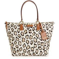 Dooney & Bourke Handbag, Nylon Printed Large Shopper ($168) ❤ liked on Polyvore *IHaveHer*