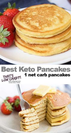 The Best Keto Pancakes recipe that has ever been made in our household! Just this keto pancake mix is so easy to whip together. Sunday morning pancakes will become a normal here on out. 👉 Try our new program (the 8 week Keto Challenge) is a Healthy Food Recipes, Ketogenic Recipes, Low Carb Recipes, Budget Recipes, Snacks Recipes, Carb Free Meals, Easy Keto Recipes, Kale Recipes, Eggplant Recipes