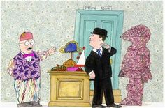 Mr Benn Liberty print mash up - I like!