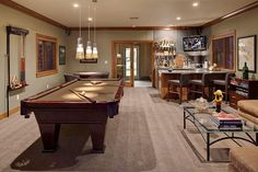 Dream Adult Game Room….. Imagine a karaoke stage behind the camera
