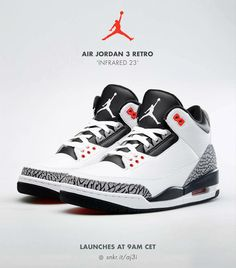 a4f136669c4 Air Jordan 3 Retro Infrared 23 Most Expensive Basketball Shoes