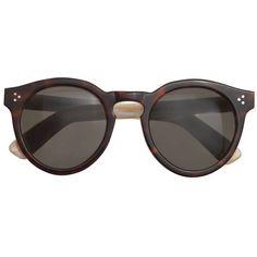 J.Crew Illesteva Leonard Ii Sunglasses ($375) ❤ liked on Polyvore featuring accessories, eyewear, sunglasses, glasses, illesteva, illesteva glasses and illesteva sunglasses
