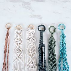 Order now! Macrame Plant Hanger family by Lekker Project!