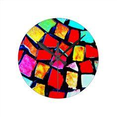 Clocks-Misc/Abstract-Mosaics 7