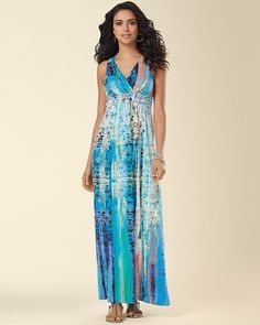 Soma Intimates Cross Strap Desire Maxi Dress Millennium Lace...this picture does not do the dress justice!