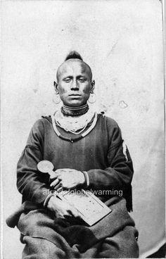 Photo ca 1863 Nebraska.  Pawnee Indian. Native American Images, Native American Tribes, Native American History, Native Americans, American Symbols, American Women, American Art, Native Indian, Native Art