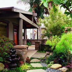 bungalow gardens designs - Google Search