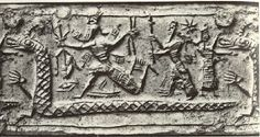 "ha-nachash ""The Shiny One"": Sumerian Tiamat ""shining personification"" of the waters."