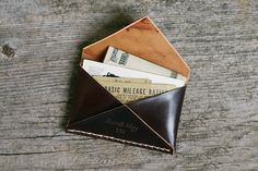 New take on a traditional wallet.