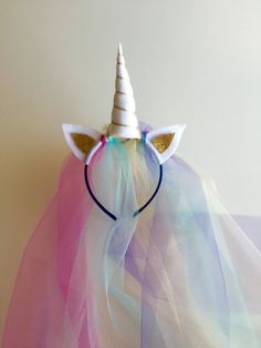 Hey, I found this really awesome Etsy listing at https://www.etsy.com/listing/462115803/princess-unicorn-headband
