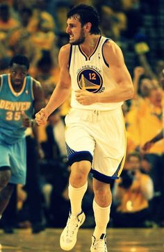 Andrew Bogut Golden State Warriors - I am so going to miss him.  Still sad about that one.  :(