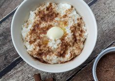 Recipe for Homemade Danish Rice Pudding