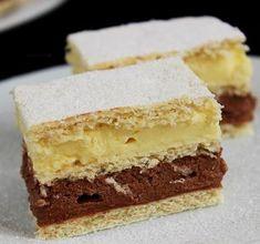 Repülő krémes - Blikk Rúzs Hungarian Desserts, Hungarian Cake, Hungarian Recipes, Sweet Cookies, Cake Cookies, Sweet Treats, Cookie Recipes, Dessert Recipes, Salty Snacks