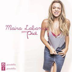 A cantora Maira Labanca, de Belo Horizonte, recentemente posou para um ensaio fotográfico com os nossos belíssimos tops!   Gostou? Acesse e escolha o seu: http://goo.gl/2T7LjP  @mairalabanca #piceatelie #marialabanca