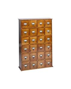 Library style organization. Oh, the organization possibilities of this.
