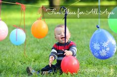 First Birthday Party Activities