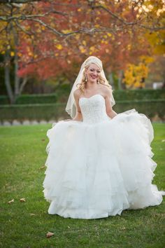 Glam gown: http://www.stylemepretty.com/new-york-weddings/greenport/2015/03/11/elegant-veterans-day-wedding-at-brecknock-hall/ | Photography: Caroline Rocchetta - http://carolinerocchetta.com/