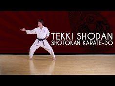 Tekki Shodan - Shotokan Karate-Do JKA - YouTube
