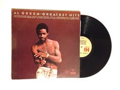 Rare Al Green Greatest Hits LP Album 1975 Let's Stay Together Let's Get Married Soul Funk Call Me Back Home Vinyl Record