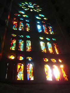 Stained glass #stainedglass #churches