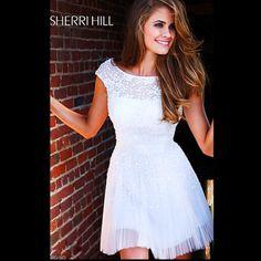 Sheri Hill: adorable for a graduation dress (: