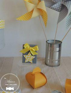 Deco, Canning, Colour Gray, Yellow, Diy Room Decor, Home, Decor, Deko, Decorating