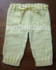 Unisex Pants/ Pantalón Unisex @amybellababies #amybellababies #knit #knitted #knitting #knitter #knitlove #knitlover…