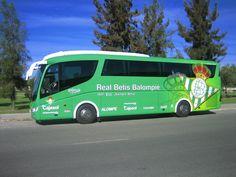 Autobus completo del Real Betis