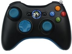 Master Modded Controller Xbox 360 Blue Out