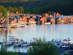 norrfjallsviken | Norrfällsvikens Fiskeläge | www.hogakustenstugor.se